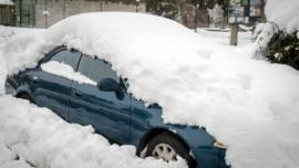SnowboundCar